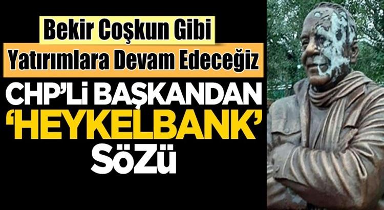 Buca Belediye Başkanı Erhan Kılıç, Bekir Coşkun heykelleri yapacağız