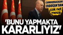 Cumhurbaşkanı Erdoğan Koronavirüs salgınında başarılı olmaya kararlıyız