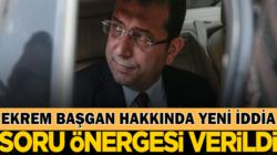 Ekrem İmamoğlu'nun yönetimindeki İBB'ye soru önergesi verildi