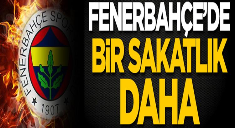 Fenerbahçe'de Mesut Özil'den sonra Sinan Gümüş'te sakatlandı