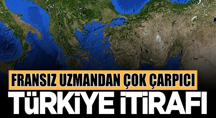Fransız Tarihçi Maxime Gauin'den çok çarpıcı Türkiye itirafı