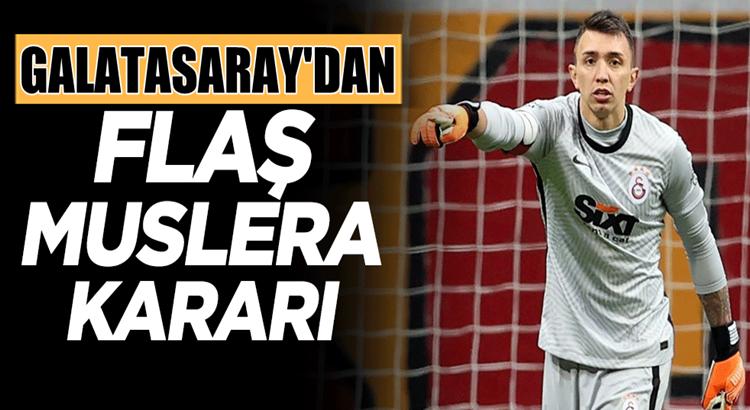 Galatasaray Fernando Muslera'yı gönderecekmi anlaşacakmı?