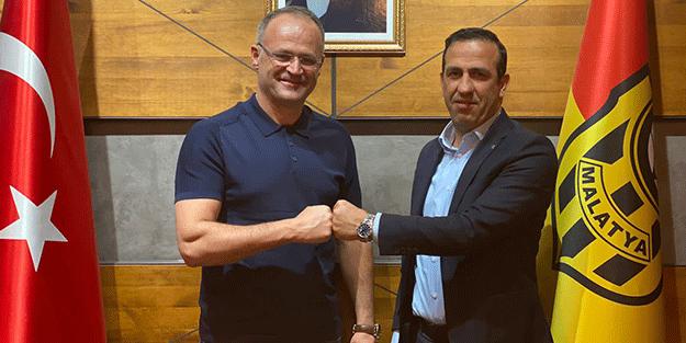 İrfan Buz Yeni Malatyaspor'da teknik direktörlük görevine getirildi
