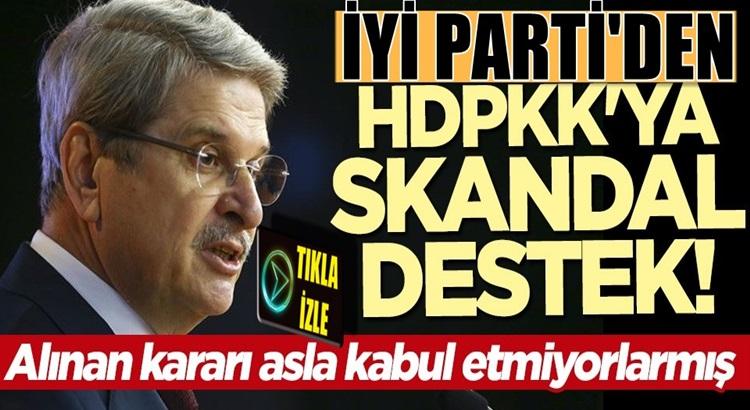 İyi Parti'li Aytunç Çıray'dan HDPKK'ya Tele1'den skandal destek geldi