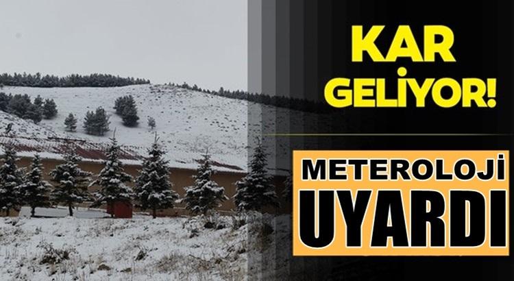 Meteroloji üst üste uyarı yaptı Türkiye'de o illere kar şiddetli yağacak