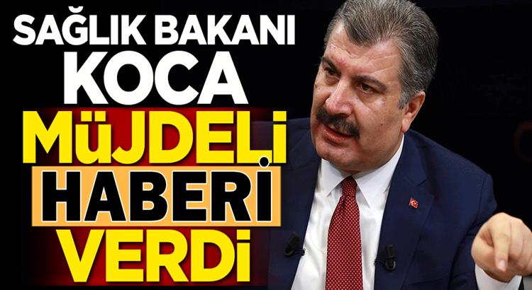 Sağlık Bakanı Fahrettin  Koca'dan sağlık çalışanlarına müjdeli haber!