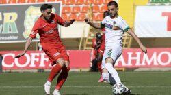 Alanyaspor'a konuk olan Gaziantep FK evine puansız döndü