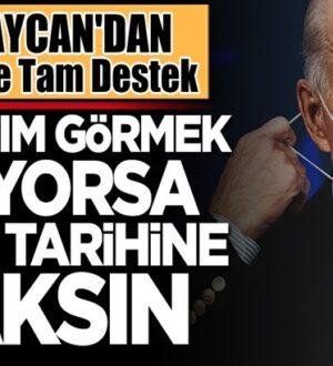 Azerbaycan: Joe Biden'e soykırım görmek istiyorsa kendi tarihine baksın