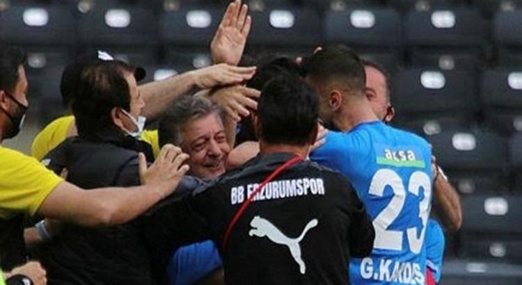 BB Erzurumspor Gaziantep fk'yı deplasmanda yenerek çıkışa geçti