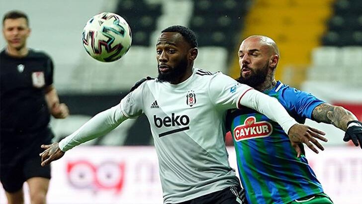 Beşiktaş, Rizespor deplasmanına Larin ve Atiba müjdesiyle gitti