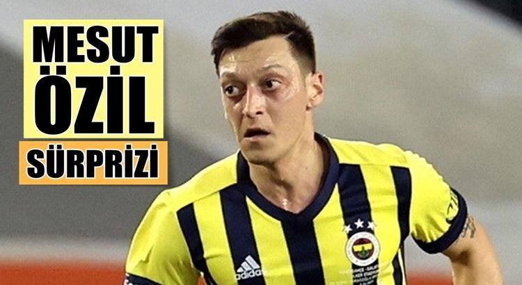 Fenerbahçe'de Alanyaspor maçı öncesi Mesut Özil hamlesi