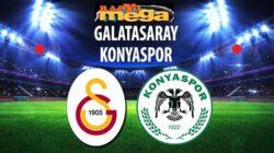 Galatasaray Sahasında Konyaspor'u ağırlayacak peki maç kaçta hangi kanalda
