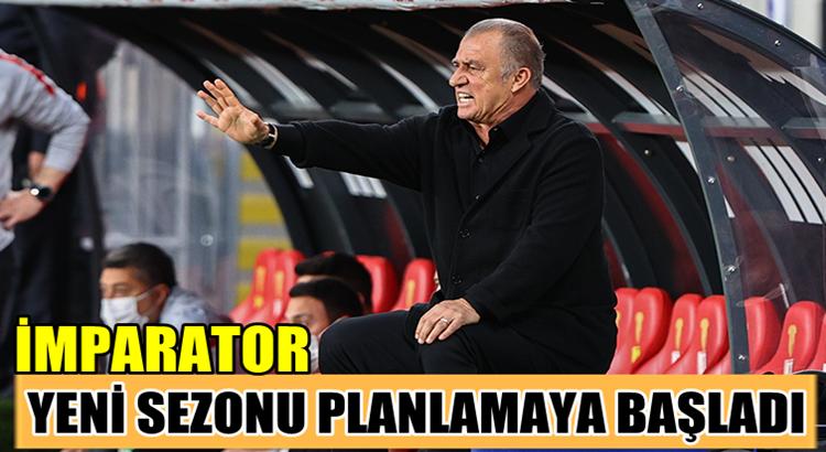 Galatasaray Teknik Direktörü Fatih Terim'in gelecek sezon planı