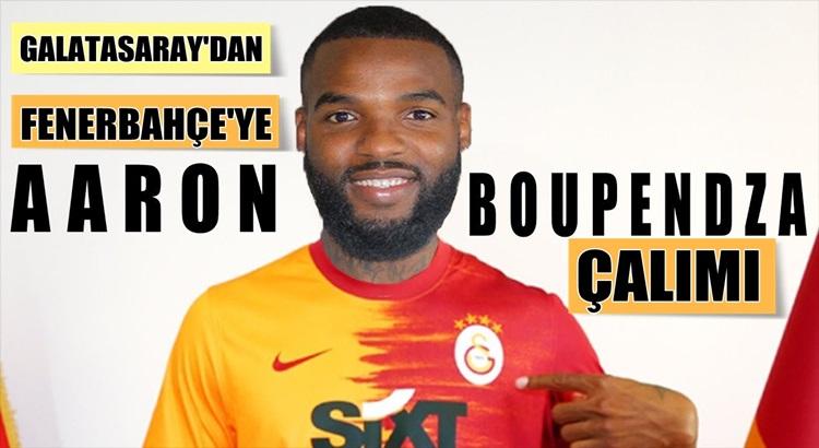 Galatasaray'dan Fenerbahçe'ye Aaron Boupendza çalımı