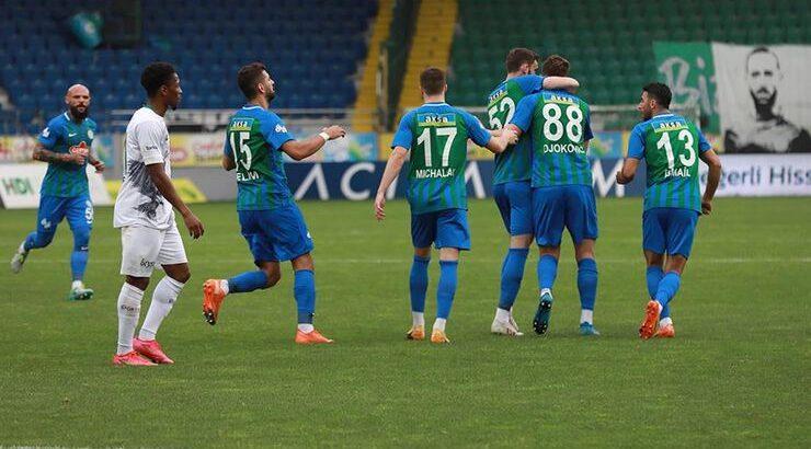 Konyaspor 'u Konuk eden Rizespor misafir takımı farklı mağlup etti