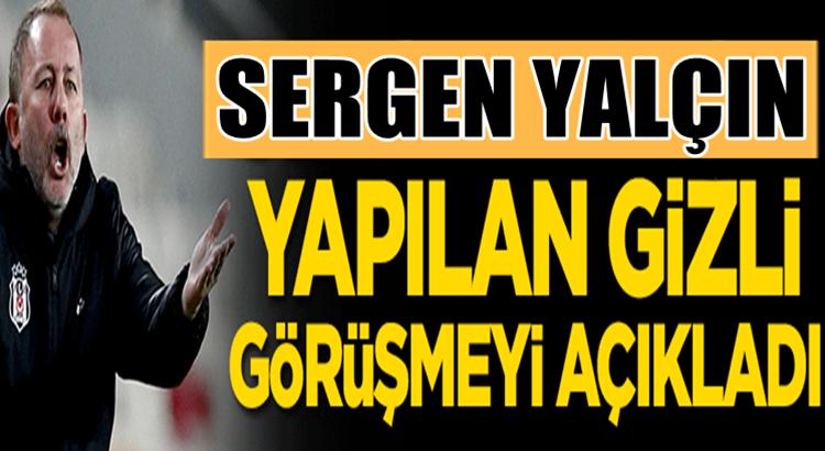 Sergen Yalçın Kayserispor maçının nasıl kazandıklarını anlattı