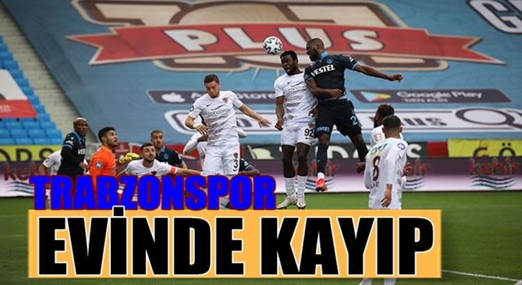 Trabzonspor Süper Lig'de kendi evinde Hataysporla berabere kaldı