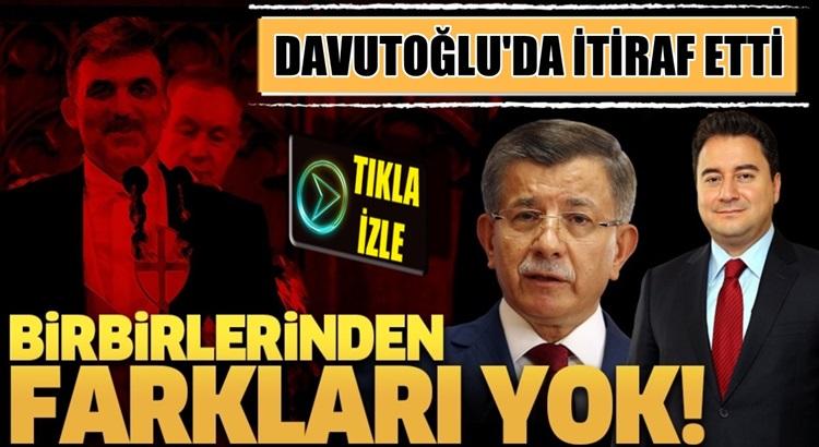 Ahmet Davutoğlu da itiraf etti! Abdullah Gül'ün adaylığını konuştuk