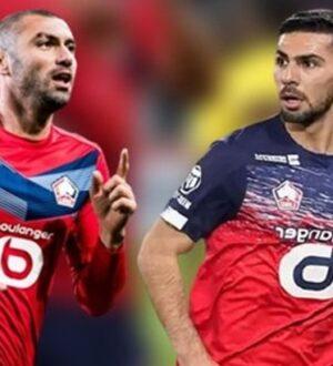 Burak Yılmaz ve Zeki Çelik attı Lille Fransa Ligue 1'de lider oldu