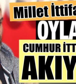 Cumhur İttifakının oy oranını Ak Parti'den Mustafa Şen açıkladı