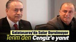 Fatih Terim'den Galatasaray Başkanı Mustafa Cengiz'e şok mektup