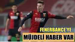 Fenerbahçe'nin Genoa'ya kiraladığı Miha Zajc'tan müjdeli haber