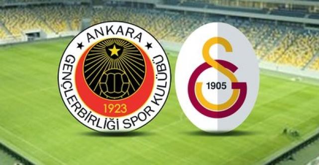Galatasaray Gençrlerbirliği maçı saat kaçta hangi kanalda