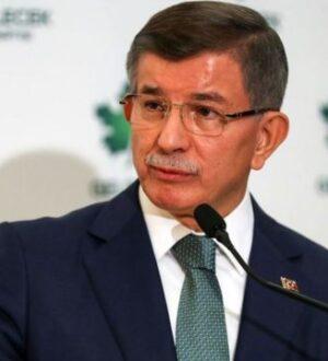 Gelecek Partsi Lideri Ahmet Davutoğlu'nda Kudüs mesajı