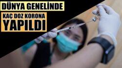 Koronavirüs aşısı Dünya genelinde kaç doz vuruldu?Haber Radyo Mega'da