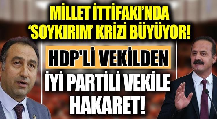 Millet İttifakında HDP İle İyi Parti Twitter üzerinden kapıştı