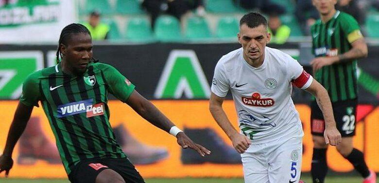 Süper Lig'de Çaykur Rizespor'a yenilen Denizlispor küme düştü