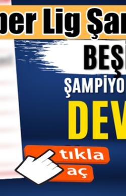 Süper Ligi Şampiyon bitiren Beşiktaş'a Şampiyonlar Ligi'nde dev rakipler