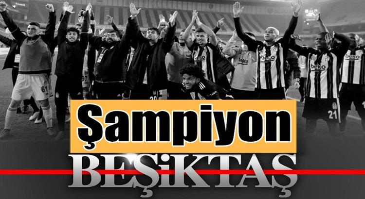 Süper Lig'in 2020-2021 şampiyonu Beşiktaş Oldu