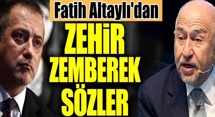 TFF Başkanı Nihat Özdemir'e Fatih Altaylı'dan bombardıman