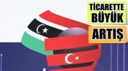 Türkiye ile Libya arasındaki ticari hacim yüzde 58 oranında artış gösterdi
