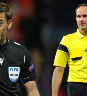 UEFA Şampiyonlar Ligi ve Avrupa Ligi finali hakemlerini açıkladı