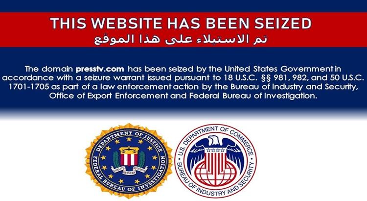 ABD'den İran Basınına şok 2 web sitesine el konuldu