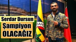 Fenerbahçe'nin yeni transferi Sedar Dursun'dan iddialı çıkış