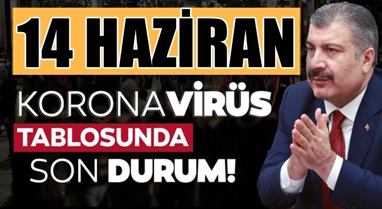 Koronavirüs 14 Haziran 2021 tablosu Sağlık Bakanlığınca açıklandı