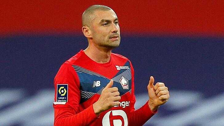 Lille'de oynayan Burak Yılmaz'a İtalyan devi Milan talip oldu