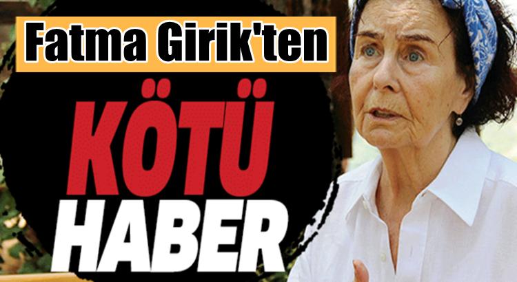 Fatma Girik Bodrum'da rahatsızlanarak hastaneye kaldırıldı
