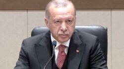 Cumhurbaşkanı Erdoğan Atatürk Havalimanı'nda açıklama yapıyor