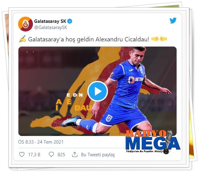 Sözleşmede, şampiyonluk halinde ise 500 bin Euro bonus maddesinin de olduğu belirtildi. Belhanda'dan boşalan 10 numarayı sırtına geçirecek olan Rumen futbolcu, geçen sezon 12 gol, 3 asistlik performans sergiledi.