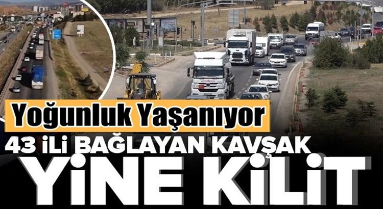 Kurban Bayramı sebebiyle 43 ilin geçiş güzergâhında trafik yoğunlaştı