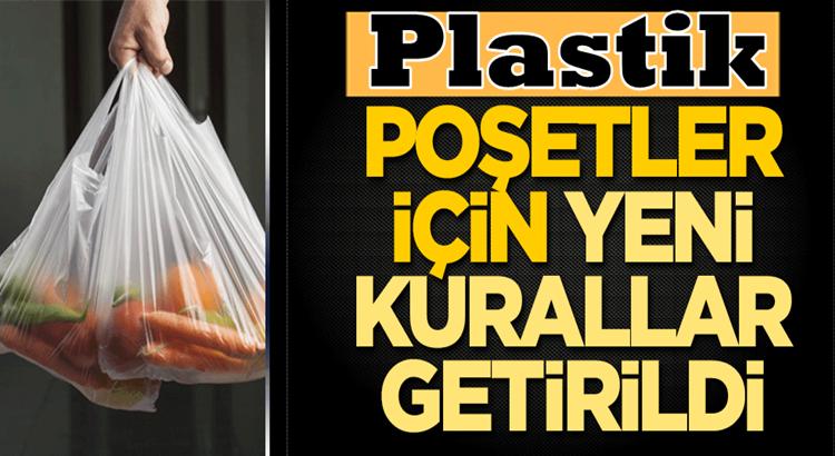 Plastik alışveriş poşetleri için yeni ve katı kurallar getirildi! işte haberler