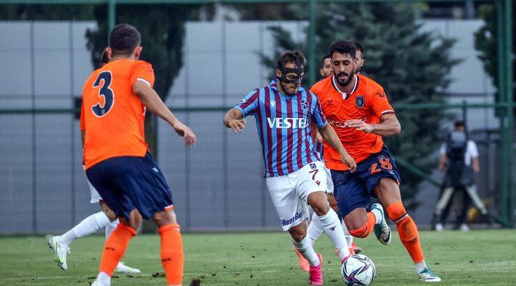 Trabzonspor hazırlık maçında Medipol Başakşehir ile yenişemedi