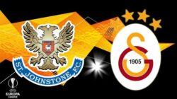 Galatasaray St Johnstone maçı hangi kanalda saat kaçta?