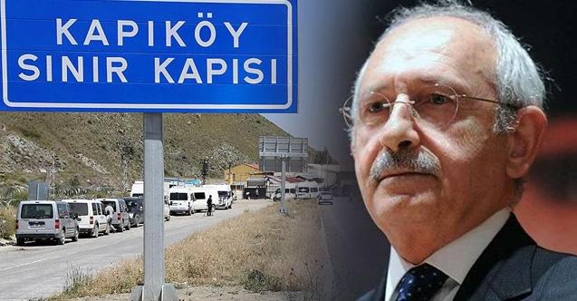Kemal Kılıçdaroğlu Afgan Milteciler için Kapıköy sınır kapısına gitti