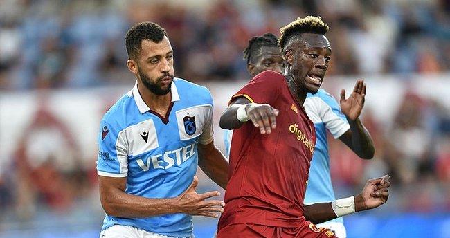 Trabzonspor Roma'dan fark yedi Avrupa'ya veda etti